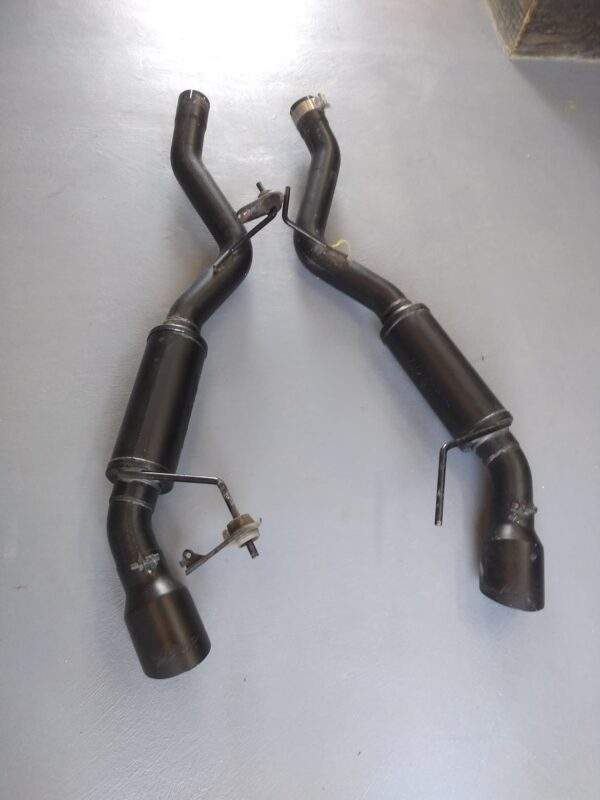 MBRP 2015+ Ford Mustang GT Convertible 5.0L V8 3″ Negro Street Catback Exhaust   tuberia